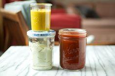 Homemade Mayo, Mustard and Ketchup  •  maybe I could make my own Watties?