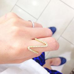 Ziggy Gold Ring - Wanderlust + Co