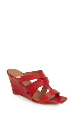 Calvin Klein 'Nona' Wedge Sandal (Women) available at #Nordstrom
