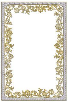 Fractal Art, Fractals, Page Frames, Vintage Borders, Frame Background, Gold Wallpaper, Frame Clipart, Borders And Frames, Nature Photography