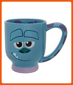 Disney Parks Exclusive Monsters Inc. Sulley Face Ceramic Coffee Mug - Fun stuff and gift ideas (*Amazon Partner-Link)