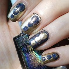 Black and Gold - Leonie's Nailart