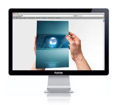 Folder A2live by D-Prime Criação e Conceito