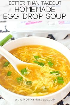 Egg drop soup recipe easy to make at home just like chinese takeout soup chinese easy eggdropsoup takeout easyrecipes souprecipes chicken lo mein Best Soup Recipes, Healthy Recipes, Vegetarian Recipes, Cooking Recipes, Simple Soup Recipes, Recipes With Chicken Stock, Health Soup Recipes, Healthy Food, Milk Recipes
