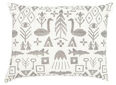 Maailman synty cushion by Saana ja Olli