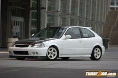 dAng! Honda Civic EK featured on TunerZine.com