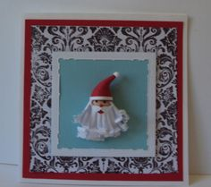 Noel card Xmas by Natilde Andrade http://natiquill.blogspot.com