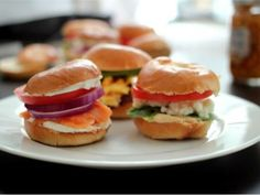 Mini Bagel Breakfast Sliders