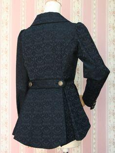 Classic Lolita Jacket - Back || Victorian Maiden