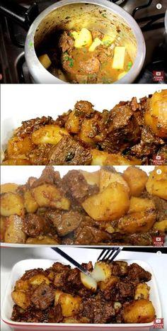 Como eu faço Carne de Panela com batata simples e fácil #comofazercarnedepanela #carnedepanela #carnecombatata #batata