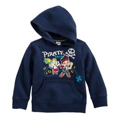 Disney Jake and the Never Land Pirates Jake & Cubby Fleece Hoodie by Jumping Beans® #MagicAtPlay #MC #Sponsored - Have to get this for C's bday. too cute & he loves Jake.