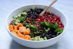 Most delicious & healthy vegan veggiebowl