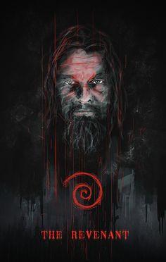 The Revenant - movie poster - Rola Rafal