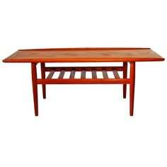 Danish Teak Coffee Table by Grete Jalk, 1960s 1