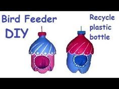 DIY Bird Feeder - Recycle plastic bottle - YouTube