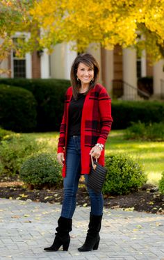 Buffalo Plaid Cardig