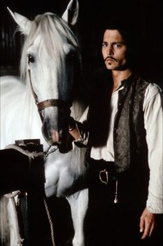 The Man Who Cried- the most beautiful horse and most beautiful man ever Johnny Depp