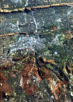 CHRIS image of Pretoria, South Africa African Life, Pretoria, Its A Wonderful Life, Amazing Pictures, Cartography, Cityscapes, Regional, Conservation, South Africa