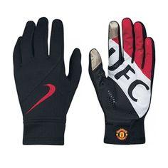 31.49 - Nike Manchester United Stadium Gloves (Black Diablo Red White) -   39e18bd160c