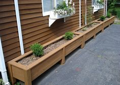 diy planter box plans - How To Make Wooden Planter Boxes Waterproof? – Garden Design