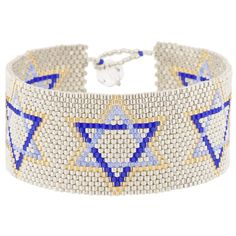 Star of David Bracelet | Fusion Beads Inspiration Gallery