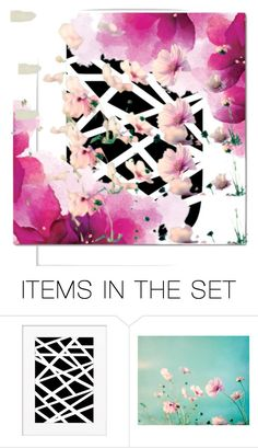 """Abstract Floral Art Contest"" by violetfemme1984 ❤ liked on Polyvore featuring art"
