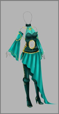 Outfit design - 91 - closed by LotusLumino on deviantART: