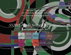 SS2015 trends forecasting for SPORTS apparel - Agitate the curiosity on obviously contrast colors and forever young graphics. www.FashionWeb...