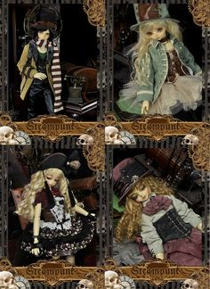 How can you not love Dollheart for their awesome BJD outfits?