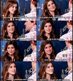 One Tree Hill I loved this part. She wasn't supposed to cry but it was her last scene ever