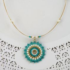 Turquoise Jewelry set Gift for wife Turquoise necklace