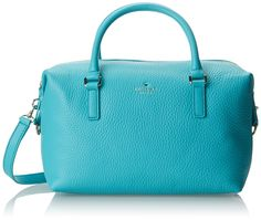 kate spade new york Henry Lane Emmy Duffle Bag,Tropic Blue,One Size