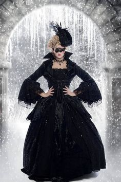 Fantasy Marie Antoinette Gown with Jacket by RomanticThreads, $1150.00