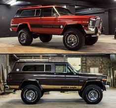 just some jeep stuff. remember keep the Jeep wave alive ! Jeep Wagoneer, Jeep Xj, Jeep Truck, 4x4 Trucks, Cool Trucks, Jeep Wrangler, Cherokee Chief, Jeep Cherokee Xj, Jeep Wave