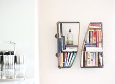 2 Industrial Pipe and Rope Shelves home and garden by DirtyBils, $149.00