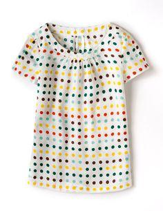 cute rainbow polka dot top http://rstyle.me/n/w47cmr9te