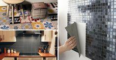 Rinnovare casa con le piastrelle adesive senza demolire! 15 esempi… da vedere!!!