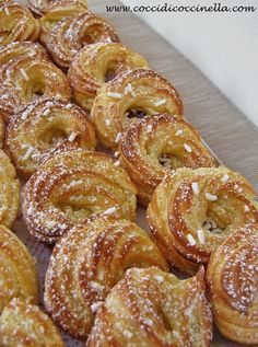 Hungarian Desserts, Italian Desserts, Mini Desserts, Dessert Cake Recipes, Easy Cake Recipes, Healthy Dinner Recipes, Donut Recipes, Cookie Recipes, Italian Easter Cookies