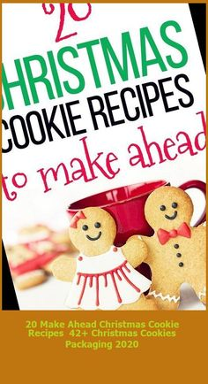 Make ahead Christmas cookie recipes for the busy mom! There is no time in a mother's life that she feels more rushed and bombarded than when Christmas sneaks up on her. As summer's hot days fade into autumn's crisp nights, Christmas can seem like a lifetime away. Until you wake up one morning and realize […] #Christmas #Recipes #Cookie #Ahead #Make christmas cookies packaging 20 Make Ahead Christmas Cookie Recipes 42+ Christmas Cookies Packaging 2020 Christmas Cookies Packaging, Cookie Packaging, Recipe T, Sneaks Up, Make Ahead Meals, Hot Days, Christmas Recipes, Cookie Recipes, Crisp