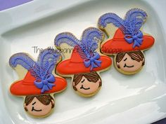 Red Hat Society (Using A Gingerbread Man Cookie Cutter!)