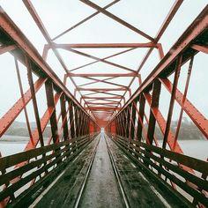 « That Greymouth bridge! @purenewzealand #nzmustdo »