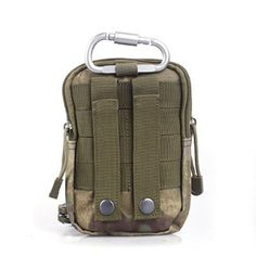 Compact Multi-Purpose Tactical MOLLE EDC Utility Gadget Pouch Tools Waist Bag Pack (ATACS-FG) Molle Rucksack, Bag Pack, Edc, Compact, Purpose, Gadgets, Card Holder, Pouch, Tools