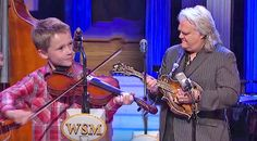 Country Music Lyrics - Quotes - Songs Ricky skaggs - 10-Year-Old Joins Country Legend For Mind-Blowing 'Blue Moon Of Kentucky' Opry Performance - Youtube Music Videos http://countryrebel.com/blogs/videos/19150059-carson-peters-ricky-skaggs-opry