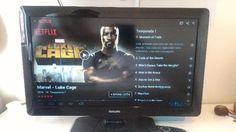"""Preço: R$650 TV Philips LCD 32"""" Full HD Semi Nova, inclui base/suporte para mesa, cabo de força e controle remoto em pleno funcionamento; Aparelho está com tudo funcionando.  - Modelo 32PFL4606D/78 - 32"""" LCD Full HD, 1920 x 1080p - TV Digital"""