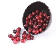 Cranberries are good sources of vitamin C and dietary fiber. They're very high in antioxidant power!