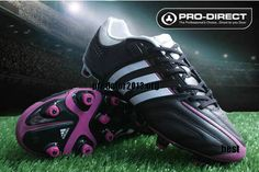 Adidas AdiPure 11Pro TRX FG MiCoach Pro Bundle Black White Pink  64.28  Cheap Soccer Shoes 2ebd5fbe35aa