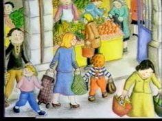 Koekeloere aflevering 122: De markt deel 2, via , getrude en jet de bruyne op hun 'winkel'.