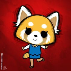 Every time, Netflix asks if I want to skip the #Aggretsuko intro. The answer is always no. I love her head banging animation so much :D