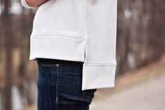 Jak uszyć bluzę bez wykroju?