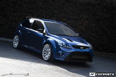 Ford Focus Cosworth by Project Kahn. 300hp is a lot of juice for that small a frame.